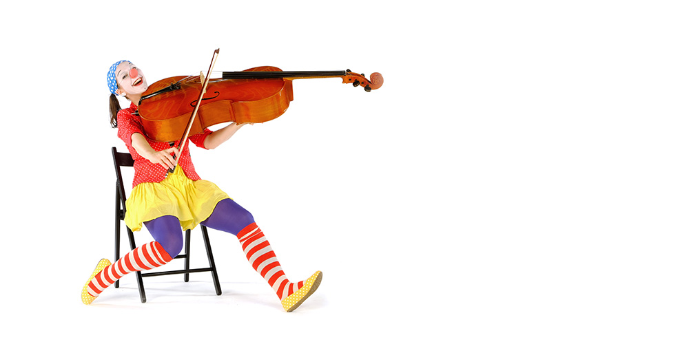 Viola macht Musik